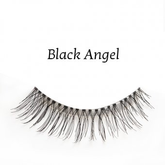 Gene false banda par natural Splendor Lashes Black Angel