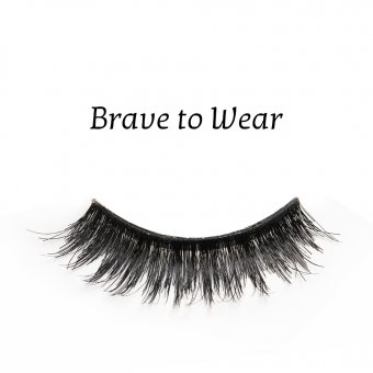 Gene false banda par natural Splendor Lashes Brave to Wear