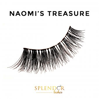 Gene false banda par natural Splendor Lashes Naomi's Treasure