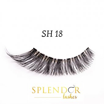 Gene false din par natural tip banda Splendor Lashes SH 18