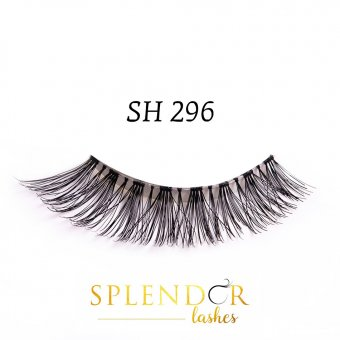 Gene false din par natural tip banda Splendor Lashes SH 296
