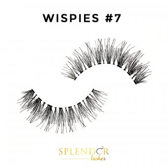 Gene false din par natural tip banda Splendor Lashes Wispies #7
