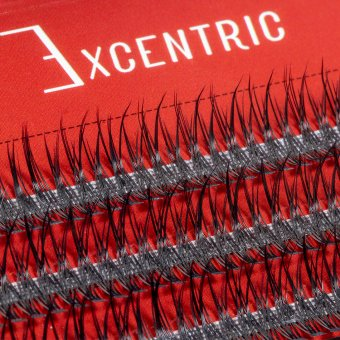 Gene false smocuri Excentric Silk Lashes 120 buc marimea L imagine produs