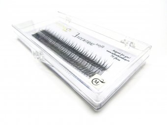 Gene false smocuri Excentric Soft Silk Lashes 76 buc marimea M
