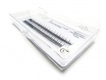 Gene false smocuri Excentric Soft Silk Lashes 76 buc marimea S