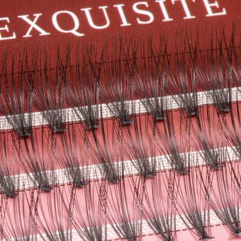 Gene false smocuri Exquisite Intense 20D Silk Lashes - 60 buc marimea L