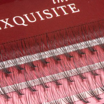 Gene false smocuri Exquisite Intense 20D Silk Lashes - 60 buc marimea M