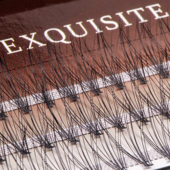 Gene false smocuri Exquisite Soft 10D Silk Lashes - 60 buc marimea L