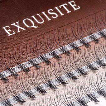 Gene false smocuri Exquisite Soft 10D Silk Lashes - 60 buc marimea S