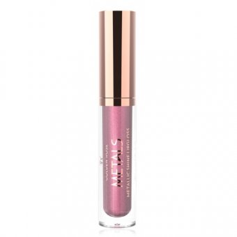 Golden Rose Metals Shine Lipgloss Metallic 4.5 ml nuanta 01 Pink Rose imagine produs