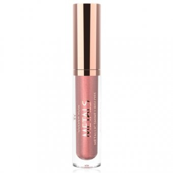 Golden Rose Metals Shine Lipgloss Metallic 4.5 ml nuanta 02 Pink Nude imagine produs