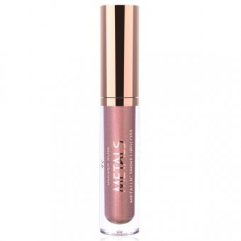 Golden Rose Metals Shine Lipgloss Metallic 4.5 ml nuanta 03 Rose Gold