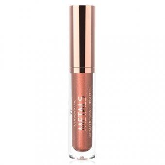 Golden Rose Metals Shine Lipgloss Metallic 4.5 ml nuanta 05 Bronze imagine produs