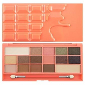 Paleta farduri I Heart Makeup Chocolate Peaches 22 g imagine produs