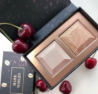 Iluminator / Bronzer Mark Wirlen Love Coffee Time 5g