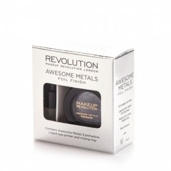 Makeup Revolution Awesome Metals Foil Finish - Black Diamond 1.5 g imagine produs