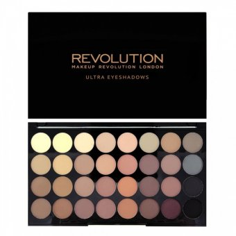 Paleta farduri Makeup Revolution Ultra Eyeshadows Flawless Matte 32 nuante imagine produs