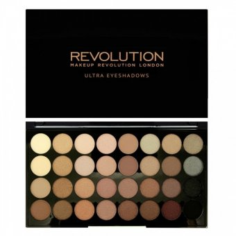 Paleta farduri Makeup Revolution Ultra Eyeshadow Beyond Flawless 32 nuante imagine produs