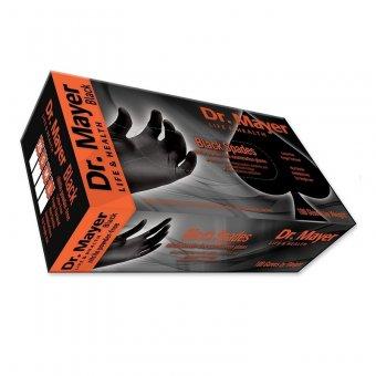 Manusi Nitril negre nepudrate de unica folosinta DR Mayer marimea S imagine produs