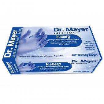 Manusi Nitril nepudrate de unica folosinta Iceberg DR Mayer marimea M imagine produs