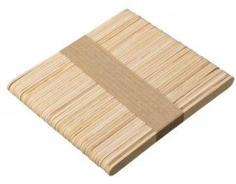 Spatule lemn Inguste 100 buc imagine produs