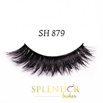 Gene false din par natural tip banda Splendor Lashes SH 879