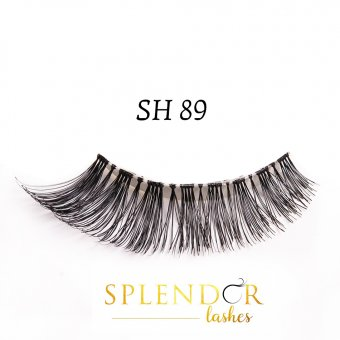 Gene false din par natural tip banda Splendor Lashes SH 89