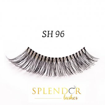 Gene false din par natural tip banda Splendor Lashes SH 96