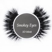 Gene false banda mink Smokey Eyes din par de nurca