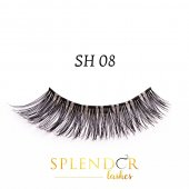 Gene false din par natural tip banda Splendor Lashes SH 08