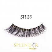 Gene false din par natural tip banda Splendor Lashes SH 26
