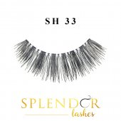 Gene false din par natural tip banda Splendor Lashes SH 33