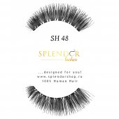 Gene false din par natural tip banda Splendor Lashes SH 48