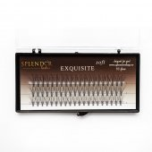 Gene false smocuri Exquisite Soft 10D Silk Lashes - 60 buc marimea M