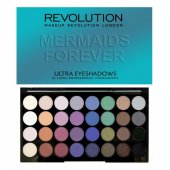 Paleta farduri Makeup Revolution Ultra Eyeshadow Mermaids Forever 30 g