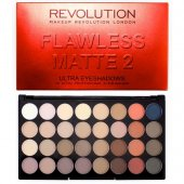 Paleta farduri Makeup Revolution Ultra Eyeshadows Flawless Matte 2 cu 32 nuante