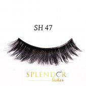 Gene false din par natural tip banda Splendor Lashes SH 47