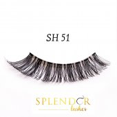 Gene false din par natural tip banda Splendor Lashes SH 51